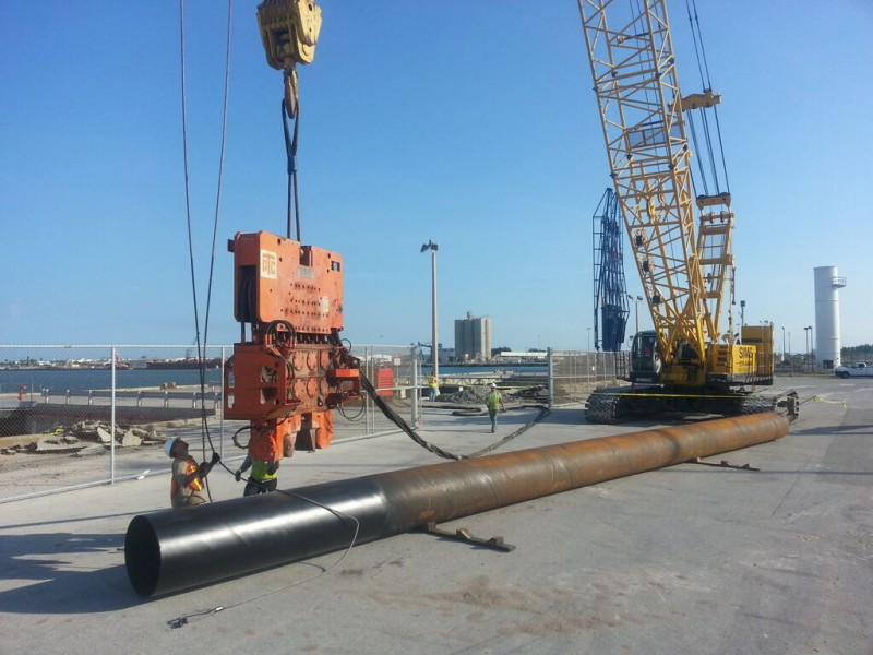 Caissons/Pipe Piles | DLS Prestressed